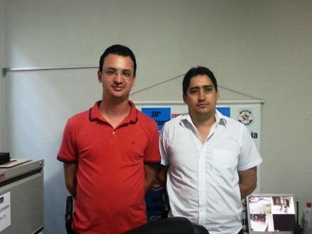 Delegados Miranda e Rodrigo