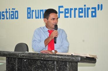 Vice-prefeito de Canaã dos Carajás Alexandre Santos