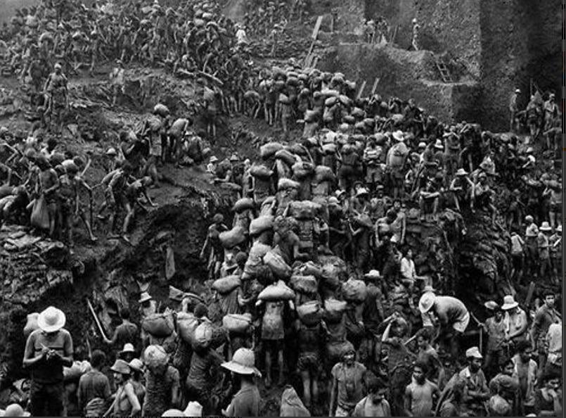 Imagens: assim era Serra Pelada no auge da produção de ouro