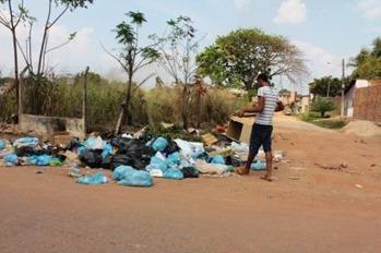 lixo em Marabá