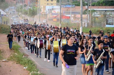 Caminhada Canaã dos Carajás