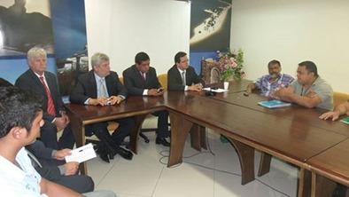 Reunião Fetagri com deputados