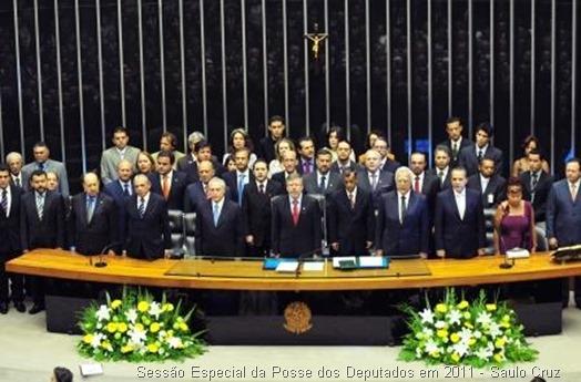 Sessão Especial da Posse dos Deputados em 2011 - Saulo Cruz