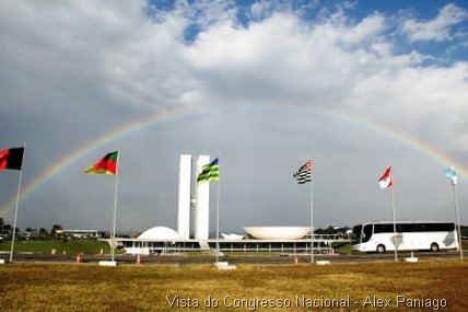 Vista do Congresso Nacional - Alex Paniago