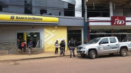 Tentativa de assalto na agência Cidade Nova do BB