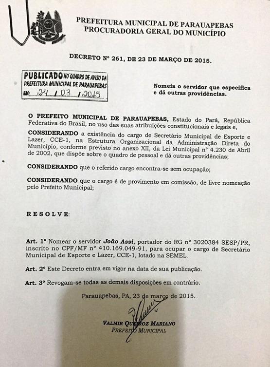Decreto JF Semel