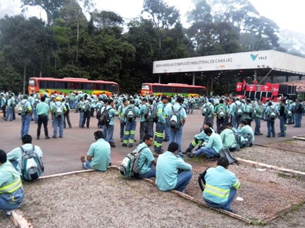 greve em Carajás