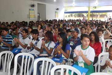 Um público seleto na Conferência dos direitos da criança e do adolescente