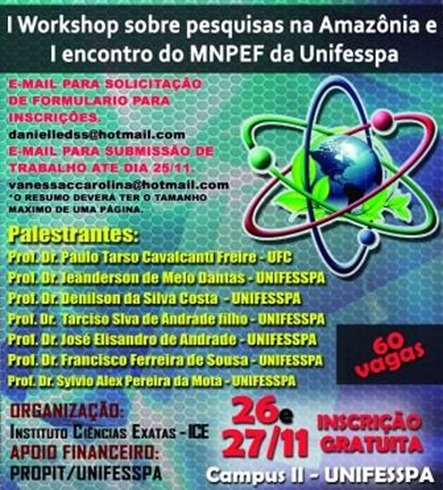 Cartaz do evento