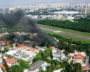 Avião de Roger Agnelli cai em SP