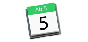5 de abril