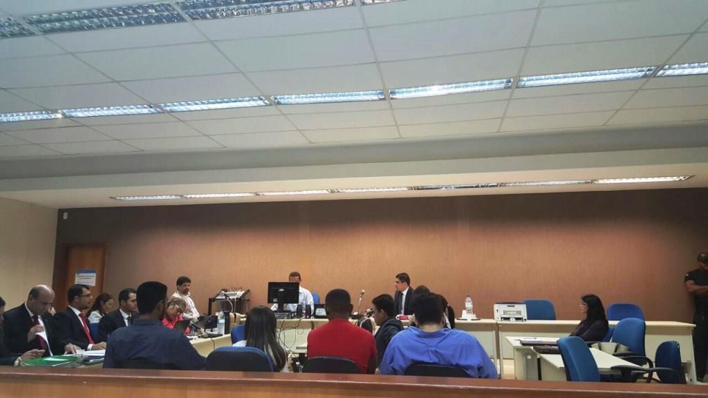 Audiência de instrução e julgamento do caso Dacio Cunha em Parauapebas