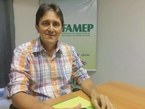 Xarão - novo presidente da FAMEP