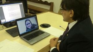 Skype é usado para audiência entre comarcas na 2 VT de Marabá II