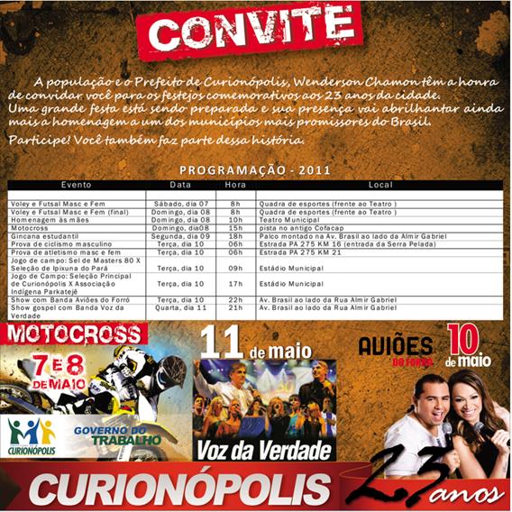 convite 30