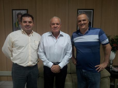 Walmor Costa, Valmir Mariano e Jorge Vieira