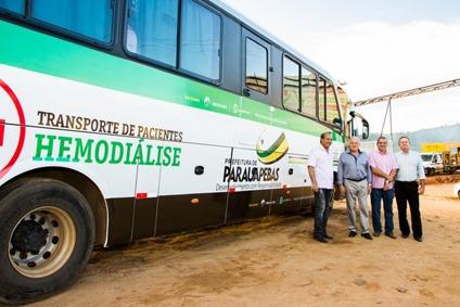 ônibus para transporte de pacietnes que fazem hemodiálise em Marabá