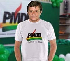 Darci Lermen ex-prefeito de Parauapebas filiou-se ao PMDB