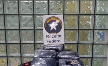 Receita Federal apreende 16,6 Kg de skank no aeroporto de Belém