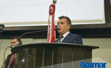 Deputado Gesmar chama atenção para o abandono da região e lamenta morte de prefeito