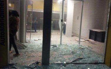 São Geraldo do Araguaia é aterrorizada por assaltantes de banco durante a madrugada
