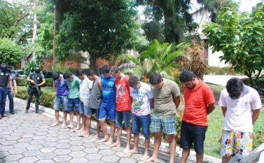 Polícias civil e militar do Pará apresentam resultados da operação que prendeu assaltantes de bancos em Parauapebas