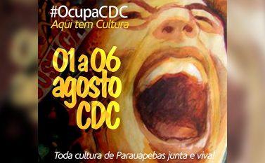 Coletivo Ocupa CDC programa virada cultural em Parauapebas