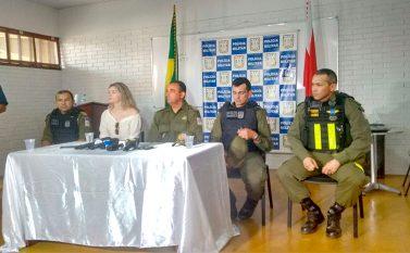 Coletiva: autoridades explicam morte de cabo PM, execuções em Parauapebas, e prometem prender os assassinos