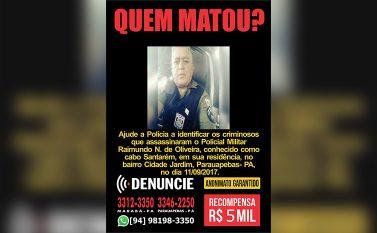 """Disque Denúncia lança campanha de """"Quem Matou"""" o Policial Militar em Parauapebas-Pa"""