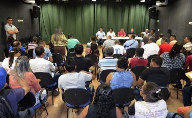 Prefeito de Tucuruí se reúne com lideranças comunitárias