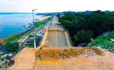 Pontes no cais de Tucuruí serão reconstruídas