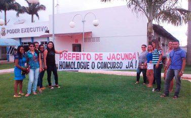 Jacundá: Aprovados em concurso querem homologação