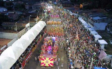 Tucuruí tem cinco escolas campeãs do carnaval