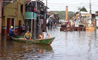 Cheia do Tocantins faz primeiros desabrigados em Tucuruí
