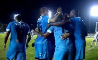 Com direito a gol de estreia, Paysandu vence o Santos-AP no Estádio Zerão pelo jogo de ida das quartas de final da Copa Verde