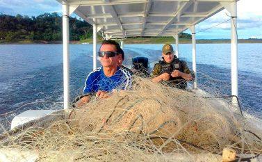 Operação Limpa Lago apreende equipamentos de pesca predatória
