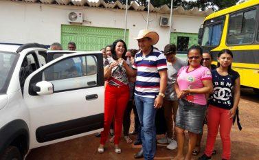 Governo de Eldorado do Carajás recebe um Fiat UNO 1.4 Flex Zero km