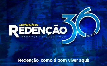 Começam nesta sexta as comemorações dos 36 anos de Redenção