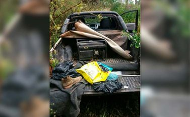 Assaltantes de carro-forte da Prosegur abandonam carro e fogem da PM