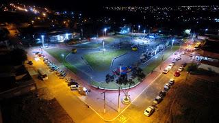 Caminhada contra pedofilia e inauguração de praça marcaram a sexta-feira em Canaã