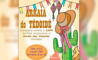 Festa junina do Caps de Parauapebas acontece no dia 21