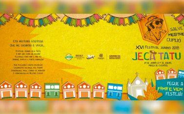Festival Jeca Tatu começa nesta quarta-feira (27), em Parauapebas