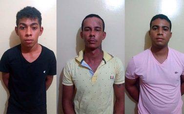 Polícia prende trio que roubava motos em Redenção