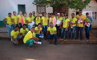 Agentes de saúde promovem ação educativa contra leishmaniose em Curionópolis