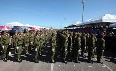 Governo promove a formatura de quase 2 mil novos policiais militares