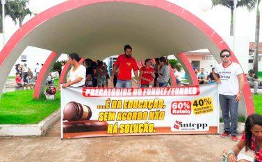 Profissionais da Educação declaram estado de greve em Jacundá