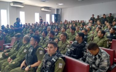 Comandante-geral da Polícia Militar visita o 23º BPM em Parauapebas