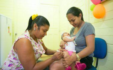 Campanha de vacinação contra Pólio e Sarampo começa na segunda em Curionópolis