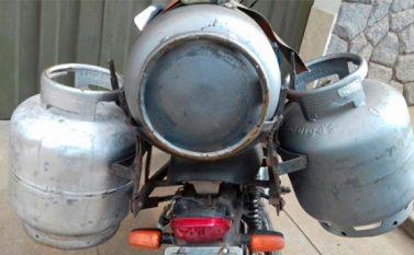 Agentes intensificam fiscalização ao comércio de gás em Canaã