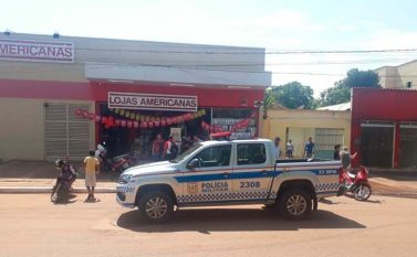 Assaltantes invadem Lojas Americanas em Canaã dos Carajás